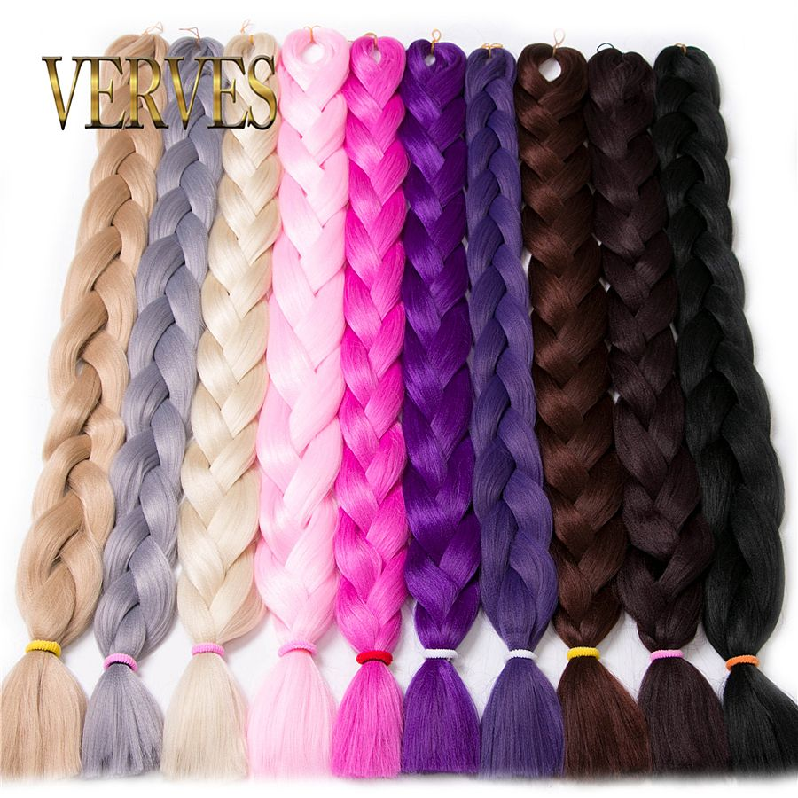 Synthetic Kanekalon Braiding Hair 84inch 165gpcs Kanekalon Jumbo
