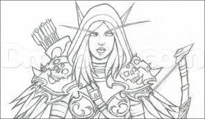 Malvorlagen World Of Warcraft