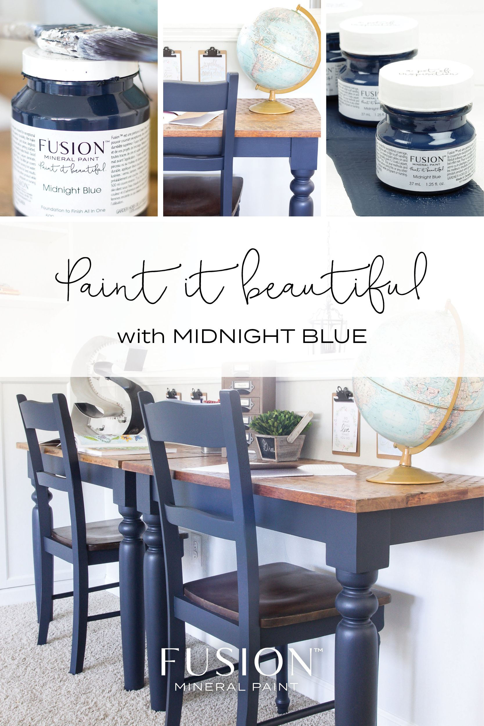 Colours Fusion Mineral Paint Painted Dining Table Painted Kitchen Tables Painted Dining Room Table