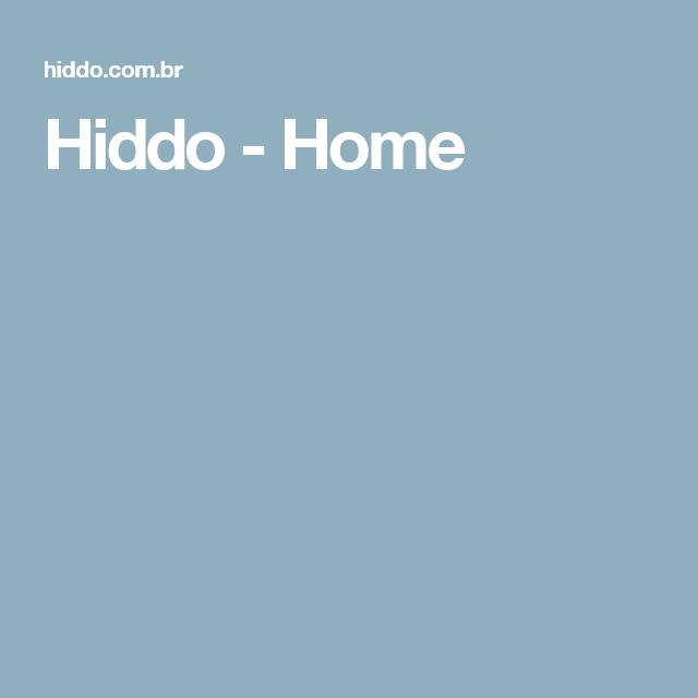 Hiddo - Home