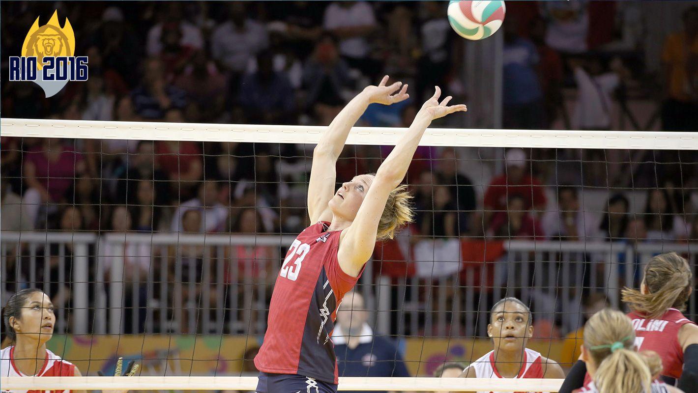 Lloyd Named To U S Olympic Team University Of California Golden Bears Athletics Olympic Team Olympic Volleyball Olympics