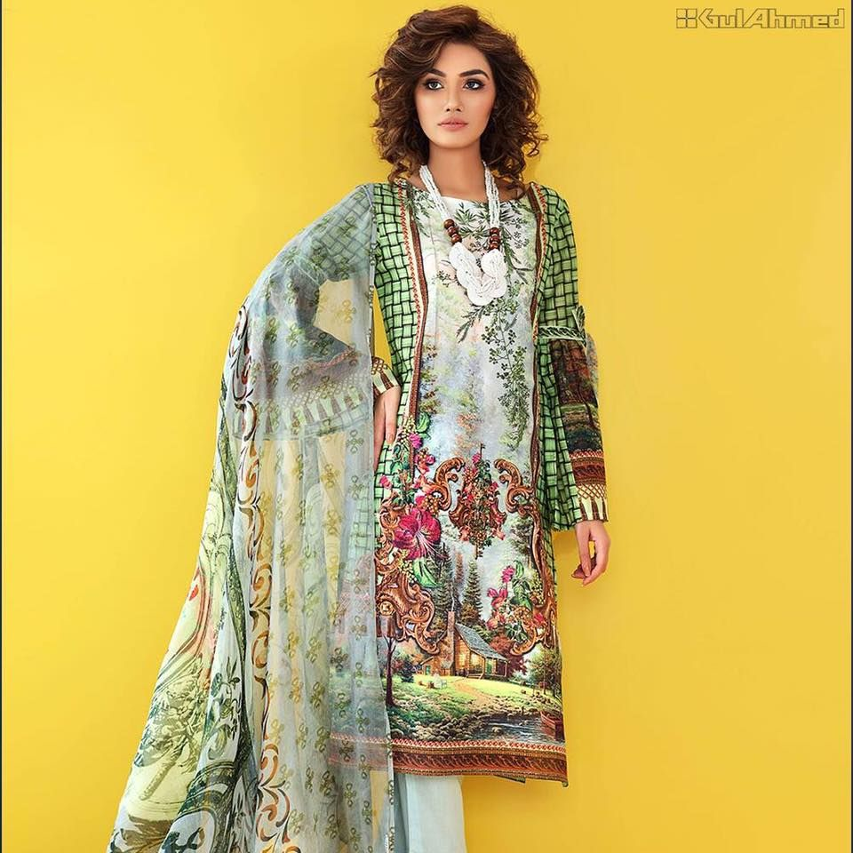 Gul ahmed eidaladha collection pk vogue december