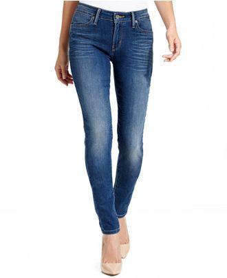 9d1e7081 Levi's Jeans, Skinny-Leg Leggings, Original Fade Wash - Jeans - Women -  Macy's