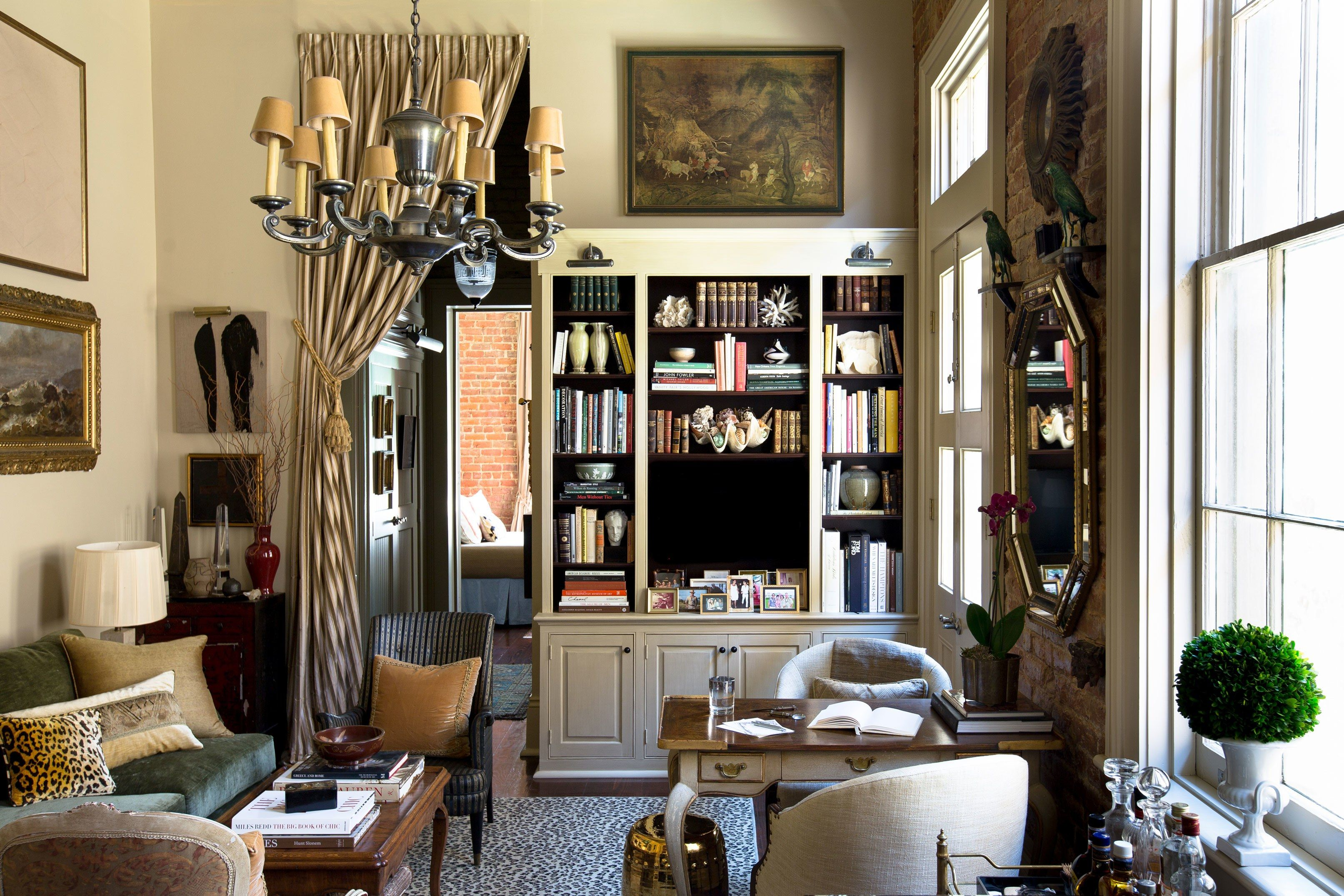 Designer Chad Graci turns his 650-square-foot condo into a sumptuous salon with character and patina