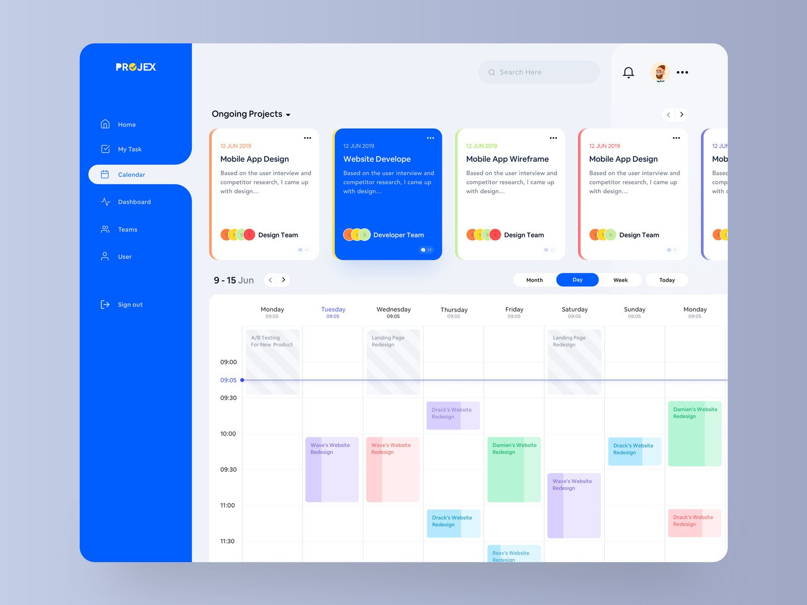 Project Management – Calendar