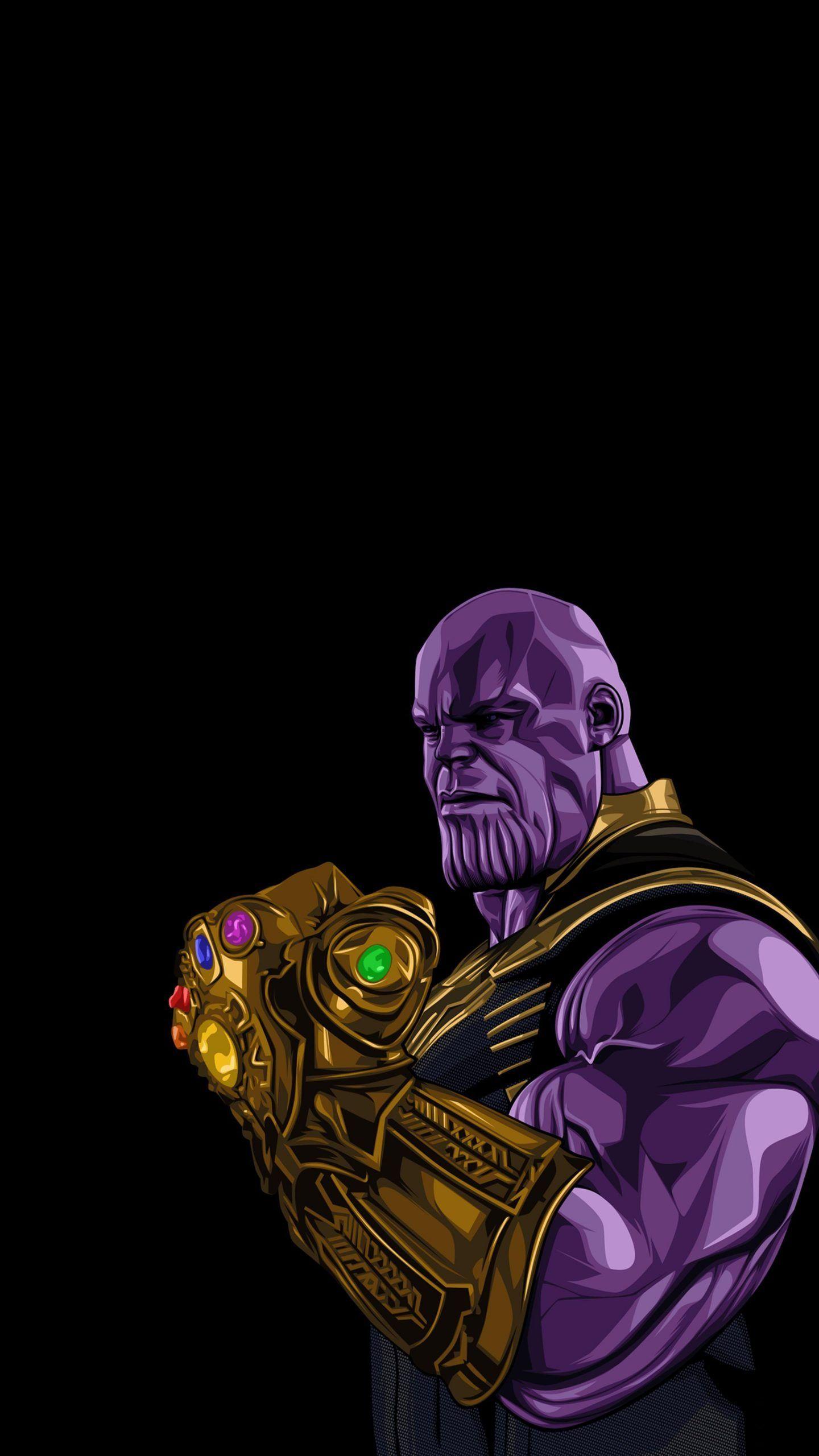 Thanos 4K Wallpaper 2160X3840