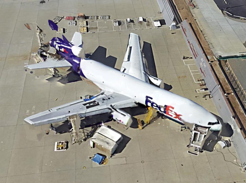 Fedex MD-10-30CF N303FE Gemini Jets GJFDX1150 2014 | 1:400 Reviews