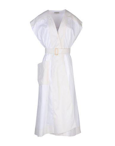 BALENCIAGA Women's 3/4 length dress White 8 US