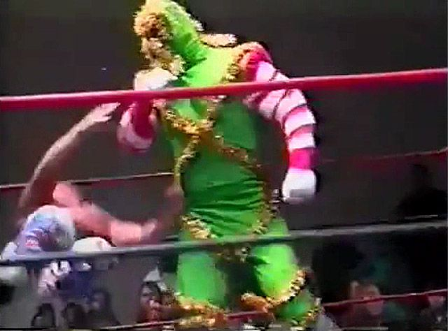 christmas creature wrestler - Google Search | Wrestling Christmas ...