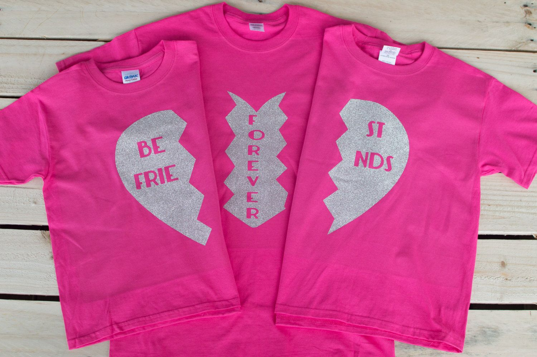 Best Friend Shirts for 3 Shirts for Friends Best Friend ...