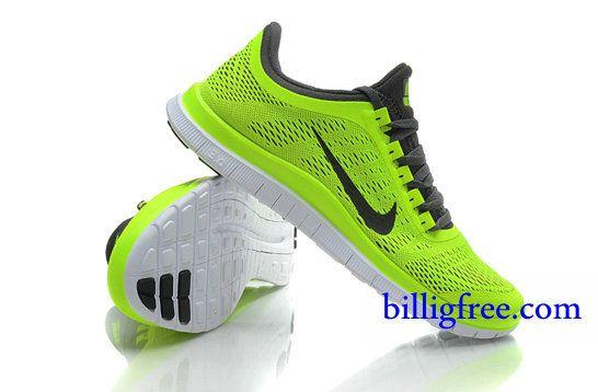 Billig Schuhe Herren Nike Free 3.0 V5 (Farbe:Vamp-gelb;Sohle-weiB,innenundLogo-schwarz) Online Laden.