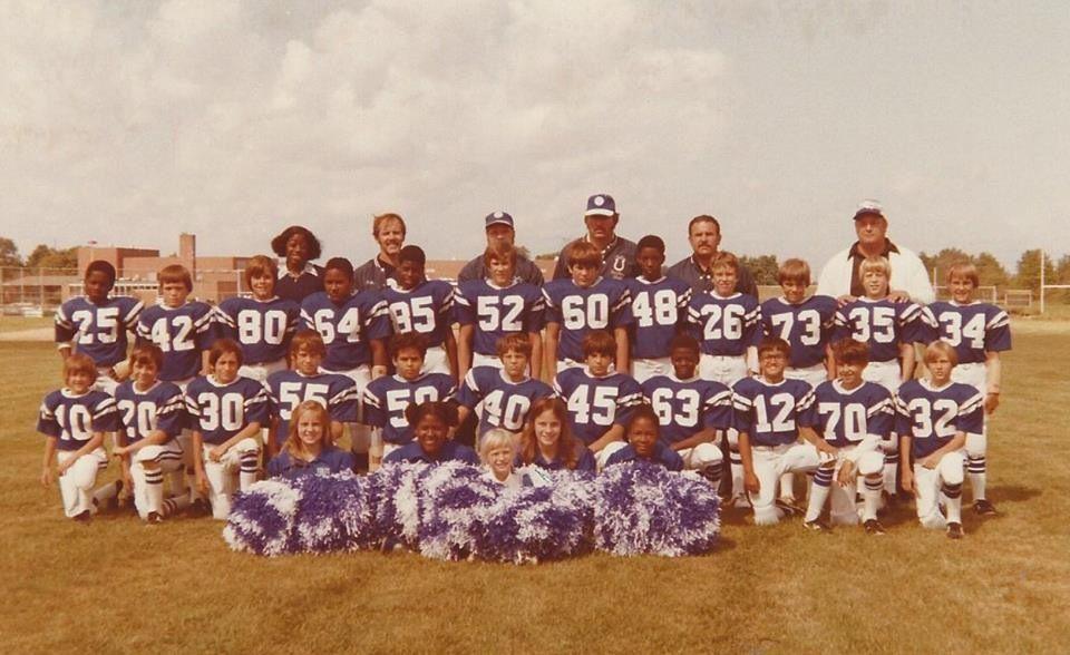 d7887f034 Midget league football Ashtabula Ohio Baltimore Colts Game Day Edgewood