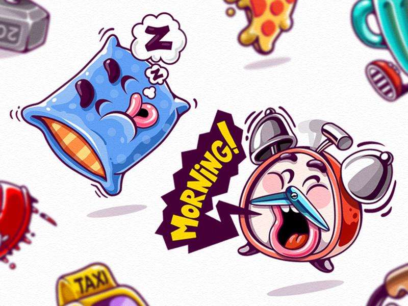 Kik Messenger Stickers Messenger stickers, Sticker art