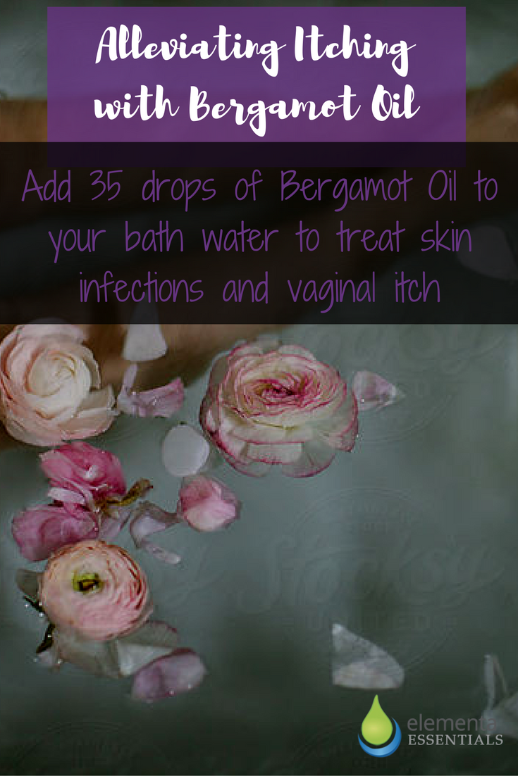 Alleviating Itching with Bergamot Oil. elementaoils.com
