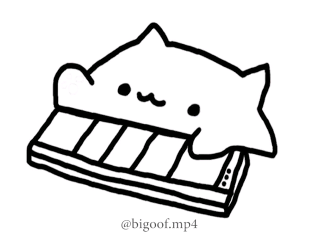 Triple Meme Edit Spoiler Bongo Cat Hope Pewds See S This Cat Stickers Space Cat Pictures To Draw