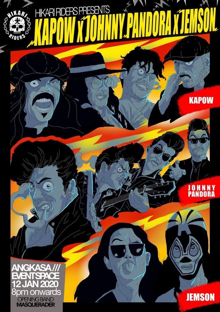 JEMSON on in 2020 Gig posters, Rock n roll, Twitter