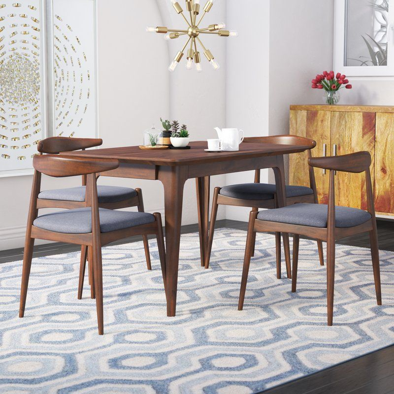 Mid Century Furniture Dining Room: Millie 5 Piece Mid Century Dining Set In 2019