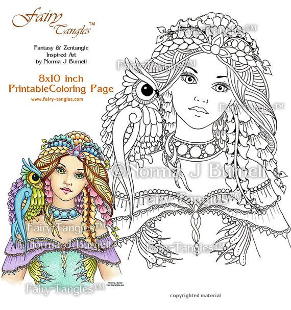 Fairy And Owl Printable Coloring Book Sheets By Norma J Etsy Printable Coloring Book Fairy Coloring Book Coloring Books