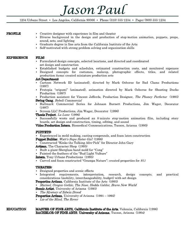 Professional Resume Sample Free - http\/\/wwwresumecareerinfo - download resume samples