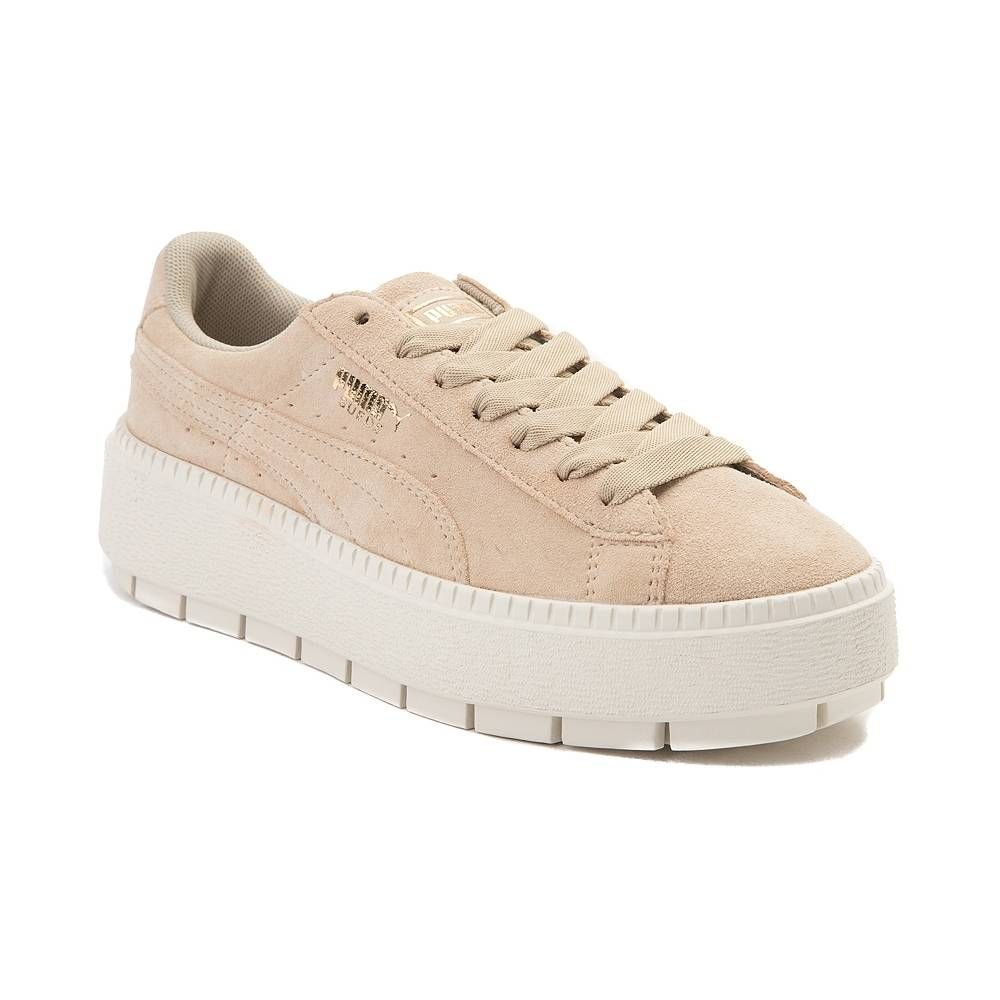 Womens Puma Suede Platform Athletic Shoe