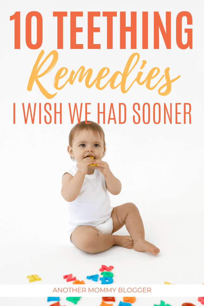 10 Ways To Soothe A Teething Baby Another Mommy Blogger Baby Teeth Baby Workout Baby Teething Remedies