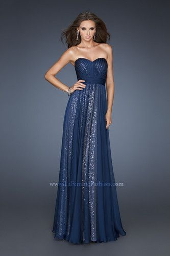 La femme navy prom dress evening gown new pageant formal ebay jpg 333x500 Prom  dresses 2013 fb706644ceac