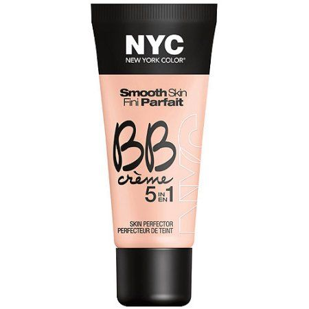NYC New York Color Smooth Skin BB Creme 5 in 1 Skin Perfector, Light, 1 fl oz