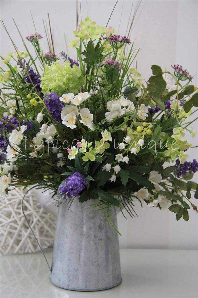 Artificial Silk Flower Arrangement - available on eBay www ...