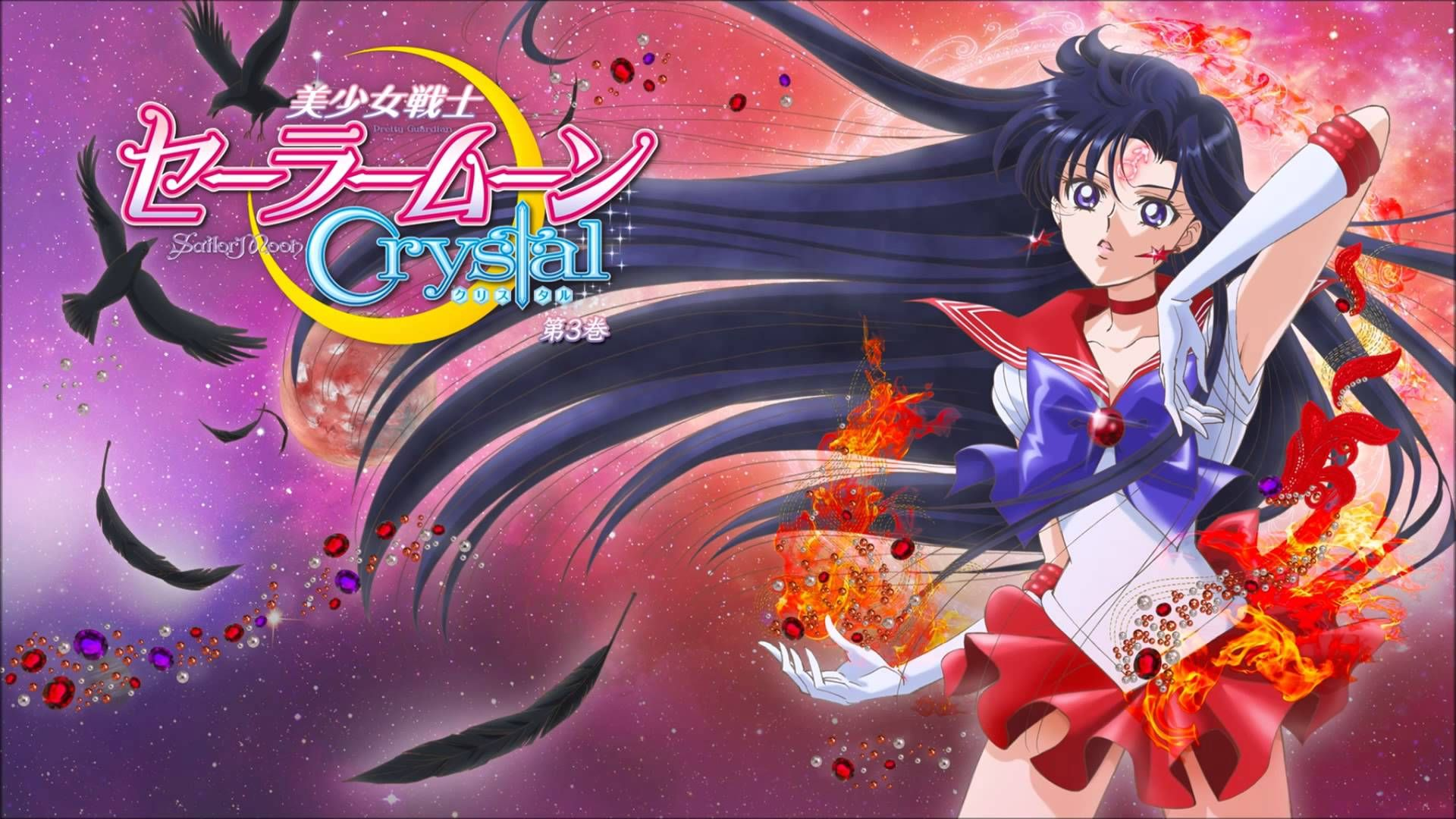 Rei Hino Sailor Mars Sailor Moon Crystal Sailor Moon Sailor Mars