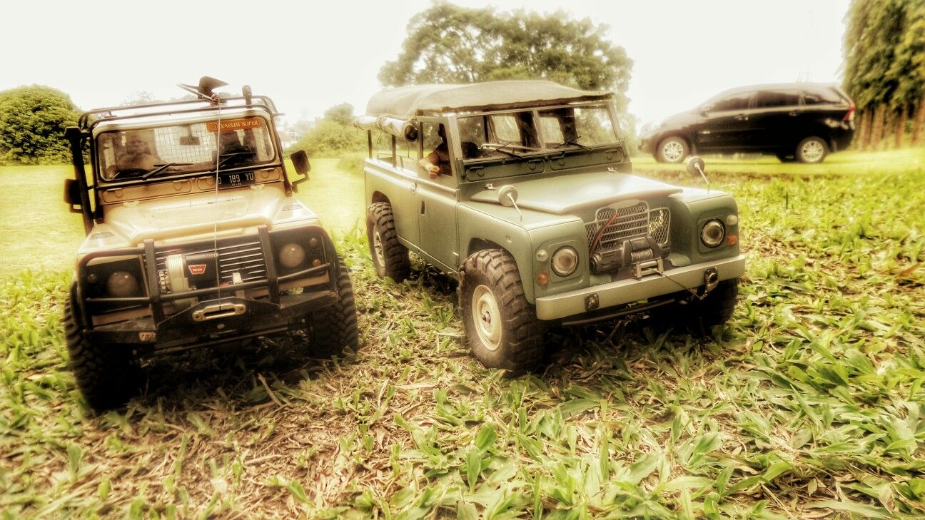 Rc Land Rover Series 3 Rc Defender D90 Rcadventure Custom Handmade Rc