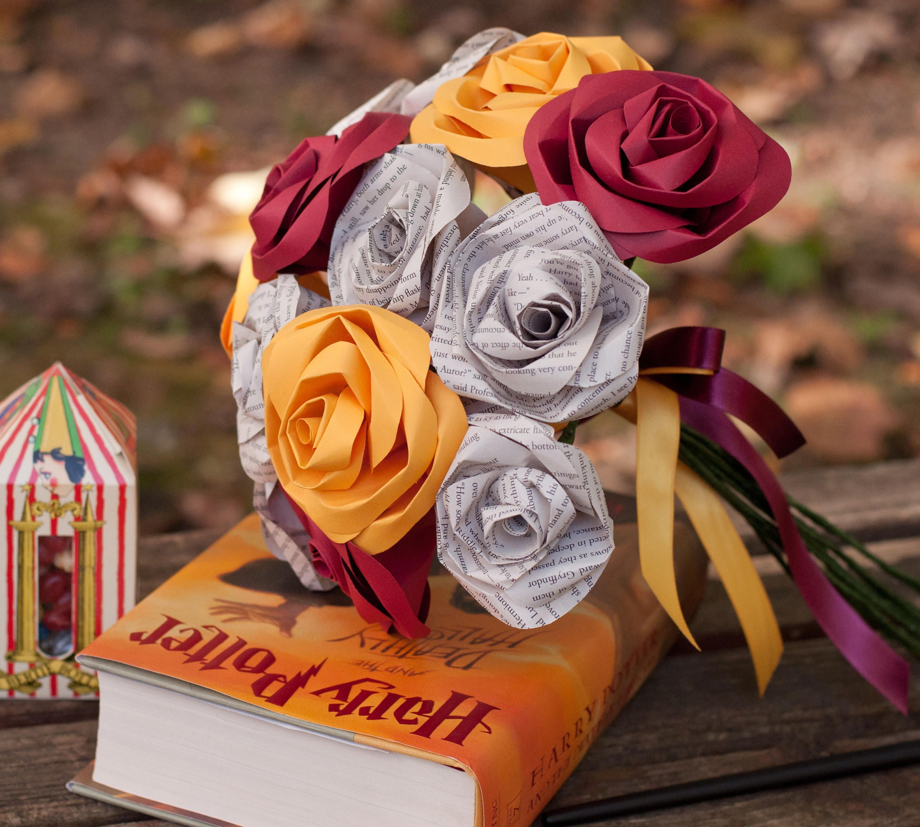 These Paper Roses Make The Most Beautiful Bouquets | #alternative ...