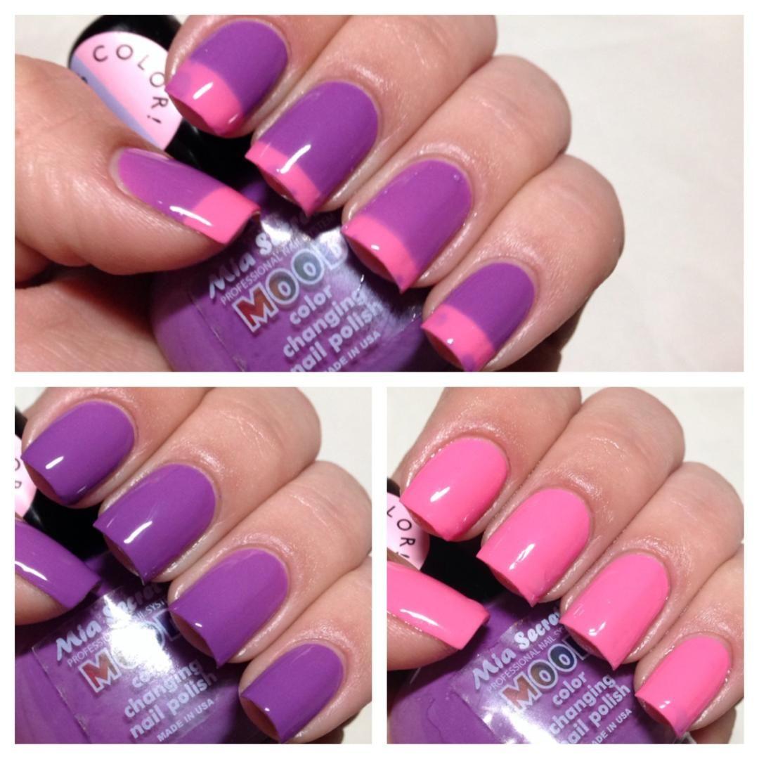 Color Changing Mood Nail Polish - Color Changing Mood Nail Polish Need To Buy Pinterest Mood
