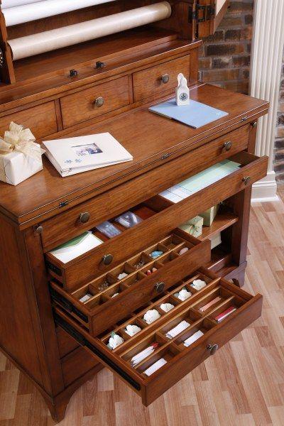Hobby cabinet by Hooker Furniture | craft storage - organization ...