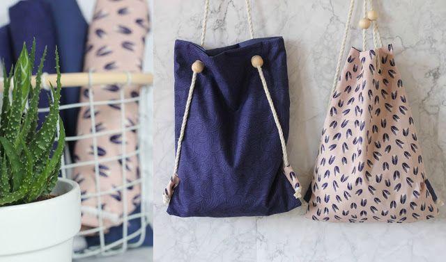 DIY-Tutorial • Rucksack oder Tasche? Beides! | Einfache diy, Schritt ...