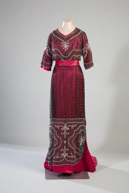 Dress Turun Fashion 1910 Époque Museokeskus Evening Belle BqFZ1w