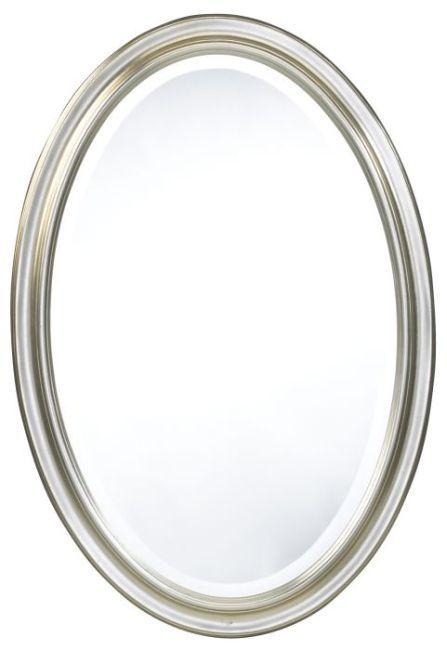 Blake Silver Oval Mirror ...