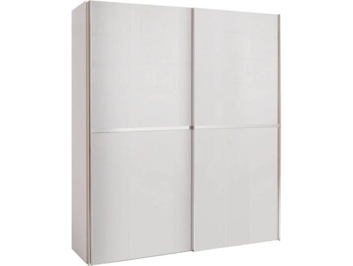 Photo of Sliding door wardrobe 3 widths, white, W x H, »dayton«, FSC® -…
