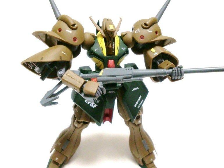 HG UC Gundam Z Zeta Hambrabi 1//144 model kit #145 Transformable Bandai