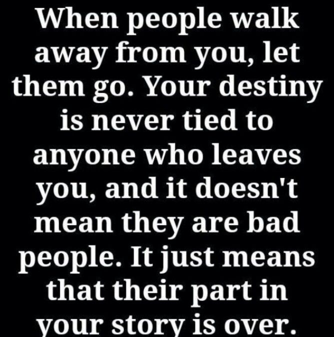 let them become a distant memory and keep moving forward