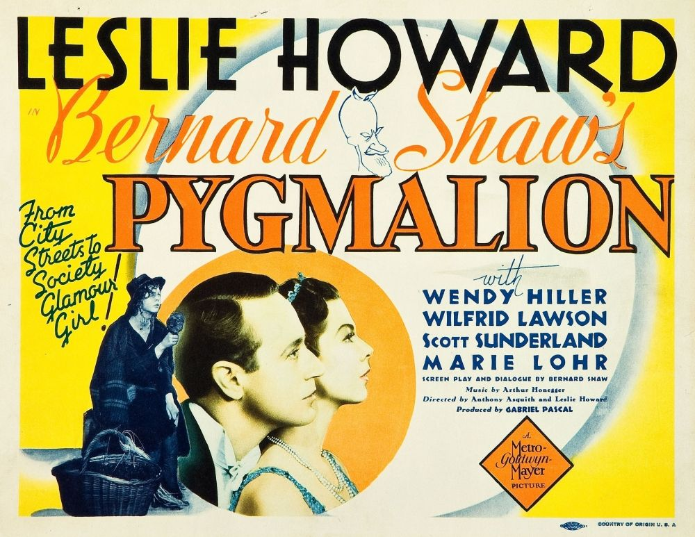 pyg on vintage movie posters bernard shaw pyg on 1938