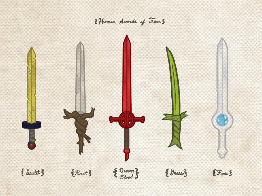 Joe Van Wetering Human Swords Of Finn Print