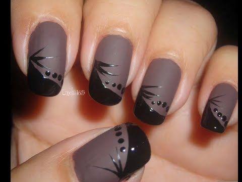 Nail Art - Matte Jacques | Nail art, Cute nail art, Matte