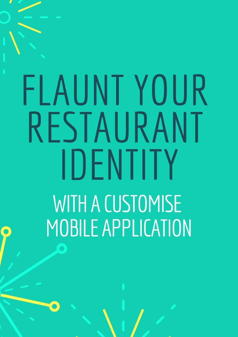 Hire professionals to create a customised food ordering