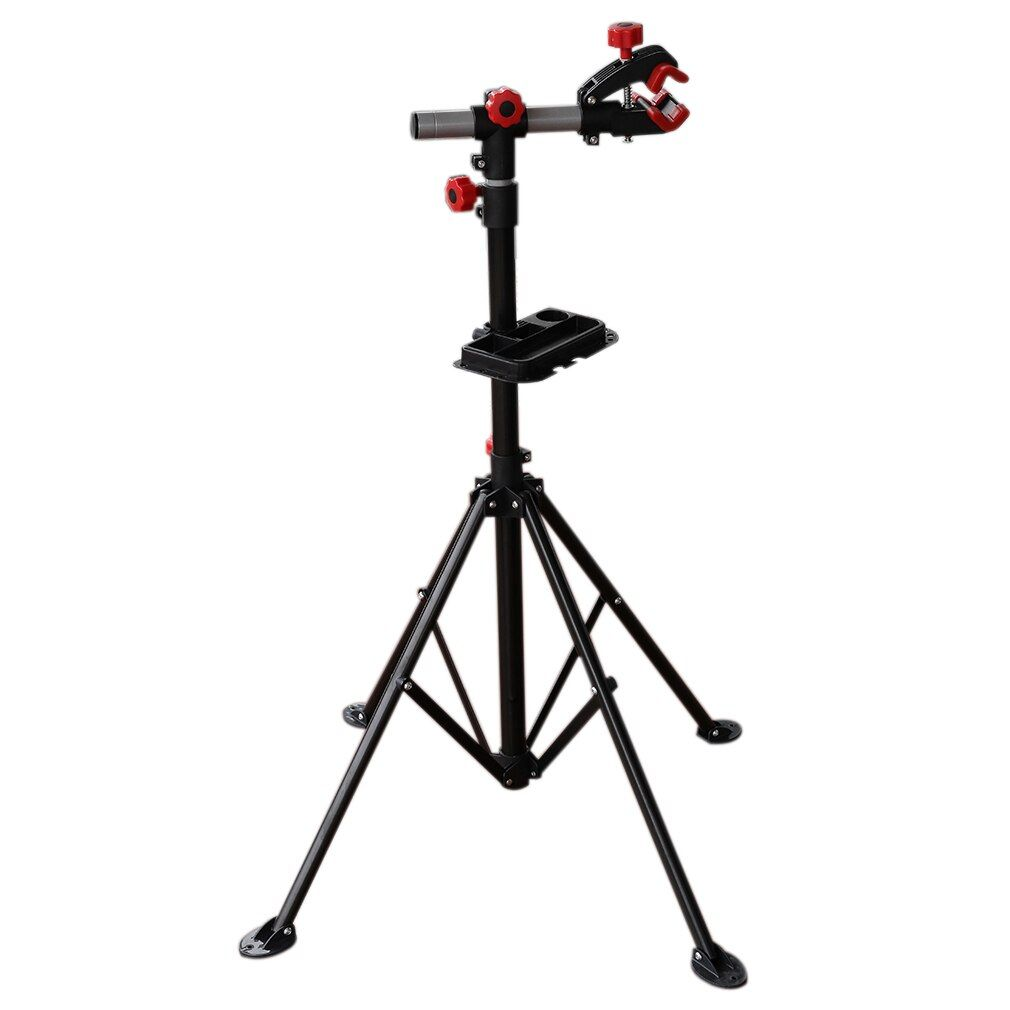 Hot Offer Adjustable Bike Repair Stand Parking 104 190 Cm Steel