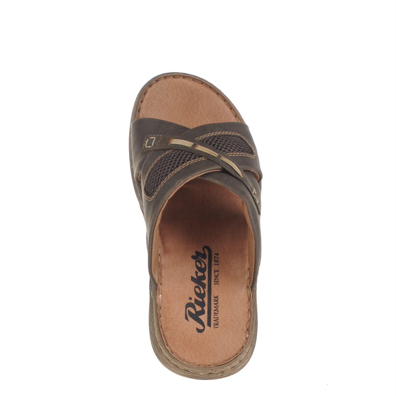 Rieker heren slippers bruin | Slippers, Schoenen dames, Bruin