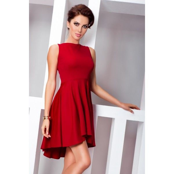 1f55aa0c8 Dámske červené letné šaty | Dámske | Fashion, Dresses a Womens fashion