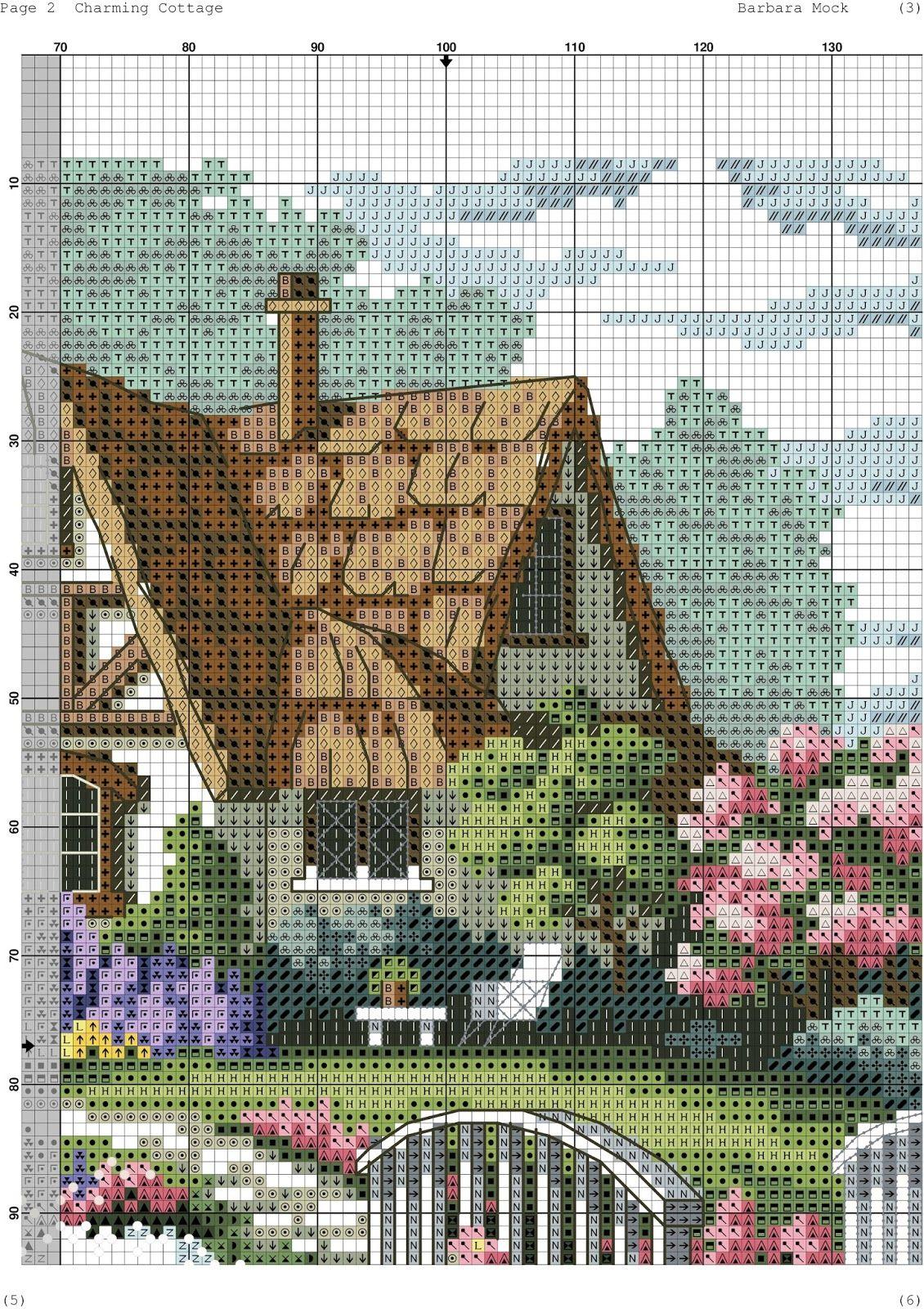 La pi grande raccolta di schemi e ricami al punto croce for Immagini di punto croce