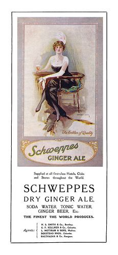 1922 Schweppes Ginger Ale ad | by totallymystified