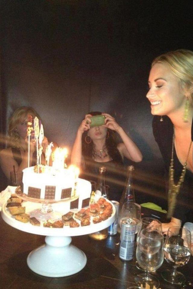 Rare Demi Lovato Th Birthday Photo