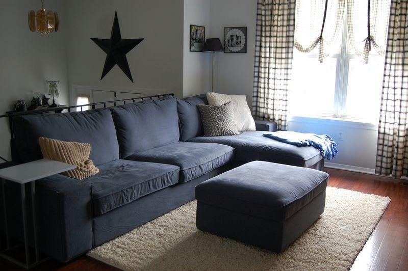 Ikea Kivik sofa. Looks pretty similar to the Dania one I ...